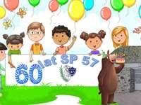 60 anos de SP57 - Os quebra-cabeças foram criados como parte da celebração do 60º aniversário da Escola Primária