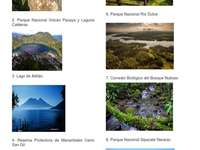 Zonele protejate din Guatemala - Zonele protejate din Guatemala