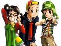 El chavo del ocho anime - chavo del ocho anime formában