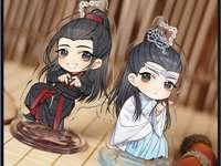 a wanxiang - Nos, ő az egyik kedvenc Mdzs karakterem, és imádtam ezt a szuper gyönyörű képet