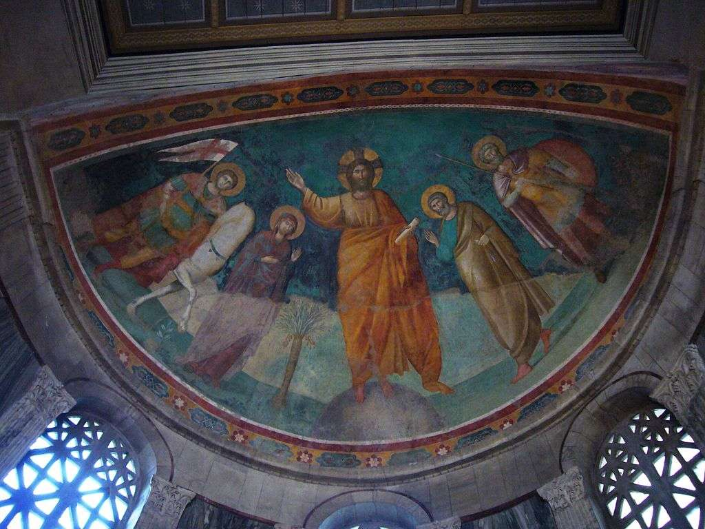 St. George sur Velabrum - St. George on Velabrum (italien: Chiesa di San Giorgio in Velabro) - Eglise titulaire catholique romaine à Rome (2×2)