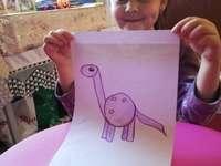 Сара и динозавърът