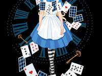 Alicja w krainie czarów - House of Postcards Alicja w Krainie Czarów