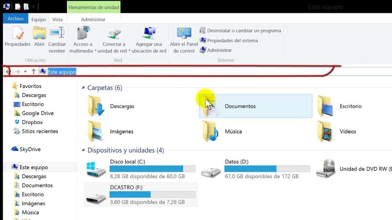Ontdekkingsreiziger - File Explorer of Windows Explorer, zoals het heette tot de Windows 8-editie, is de officiële bestandsbeheerder van het Microsoft Windows-besturingssysteem (8×5)