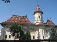 """Klášter sv. Jana ze Suceavy"" - , Klášter Sfântul Ioan de la Suceava '' - 4 kusy"