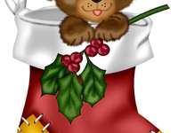 Santas Stiefel - Finden Sie heraus, welches Geschenk Sie erhalten.