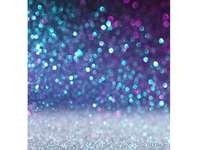 culori reci - ploaie de sclipici pe foaie