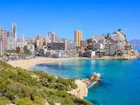 Orașul Benidorm din Spania - Orașul Benidorm din Spania