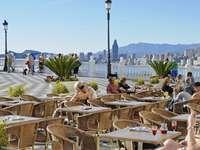 Benidorm város Spanyolországban