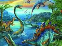Dinoszauruszok - Kedves óvodás, feladata a rejtvény megoldása. Sok szerencsét