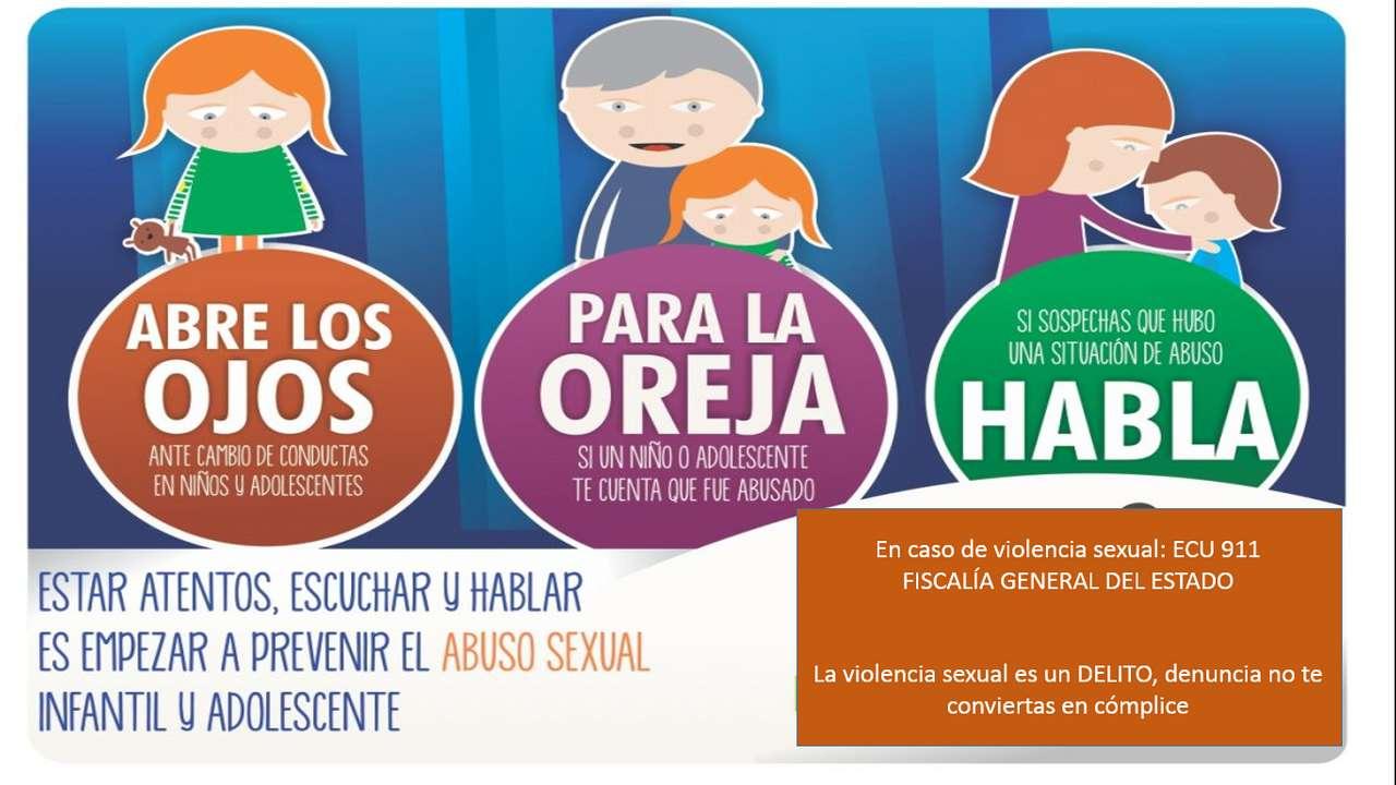 preventie van seksueel geweld - leg samen met uw gezin de puzzel samen van onze toezeggingen om seksueel geweld te voorkomen (3×2)