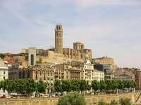 Lleida Stadt in Spanien