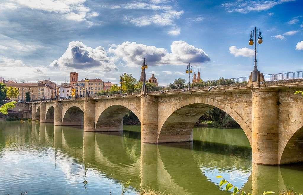 Logrono Stadt in Spanien (15×10)