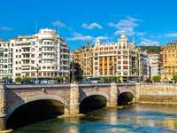 San Sebastian city in Spain