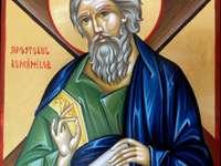 Heiliger Andreas der Apostel