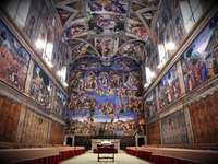 Sistine Chapel - The Sistine Chapel. created by Miguel Angel