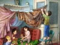 Dětské hry doma