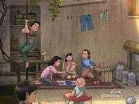 Děti na dvoře