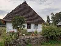 skanzen v Kolbuszowě - skanzen v Kolbuszowě v regionu Podkarpacie