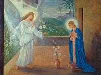 Благовещение - ангел дойде при Мария
