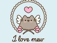 Pusheen pisica veselă - pusheen este o pisică cu un corp choncho las numele canalului pusheen pisica