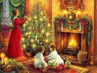<< Vánoční stromeček >> - Vánoce: vánoční stromeček.