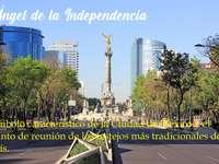 Városi Tájkép. A Függetlenség Angyala - Játsszon és ismerjen meg egy kicsit többet a mexikói tájakról