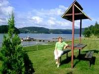 Kilátás - Kirándulás a Roznowski víztározóba