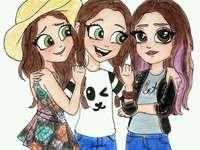Coole Schwestern - coole Schwestern Ich meine, sie sind schöne und große Schwestern