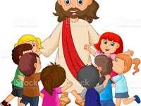 Jesus von Nazareth - Die Geschichte steht im Buch des Heiligen Matthew ist eine Geschichte für Kinder