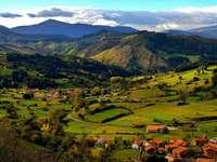 een dorp in spanje