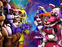 fnaf 1 and sister location
