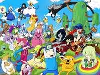karikatura pro děti - cool a cool věci, cool oblečení, cool hračky, cool jídlo a všichni obyvatelé.