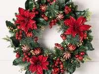 Guirlandas de natal - Guirlanda de Natal - Decoração de Natal