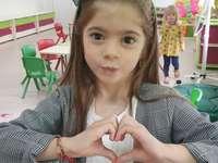 Moje malá holčička - Na tomto obrázku je zastoupena 5letá dívka, milovnice gymnastiky a krásná!