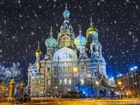 St. Petersburg -one of the most beautiful cities - Petersburg by night - one of the most beautiful cities