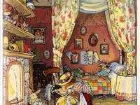 camera da letto rozza