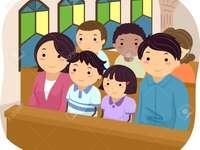 crianças da igreja