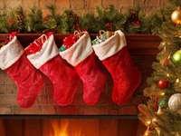 Decor de Crăciun în sufragerie - Decor de Crăciun în sufragerie