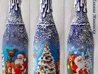 Les trois bouteilles