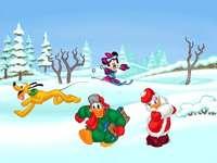 KAČER DONALD - Vánoce, Káčer Donald, Pluto