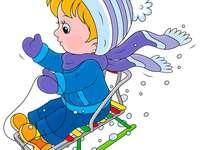 Bawmy się na saniach - Sanie są jak zima i śnieg