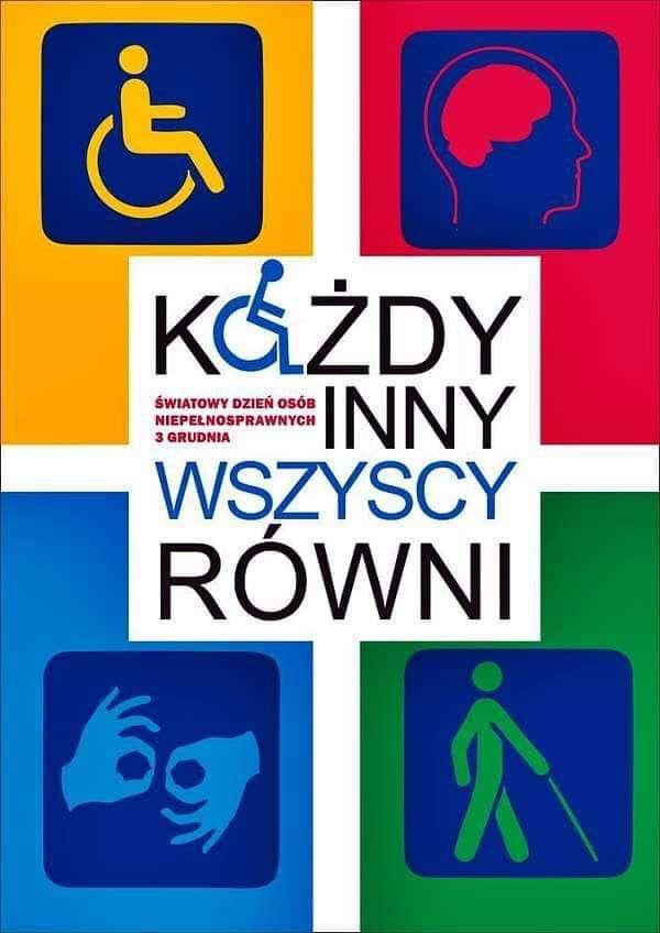 Mindenki más, mindenki egyenlő - Puzzle a fogyatékkal élők napjára (6×9)