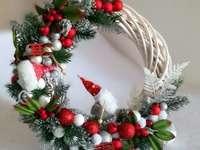 Christmas wreath - m ...................
