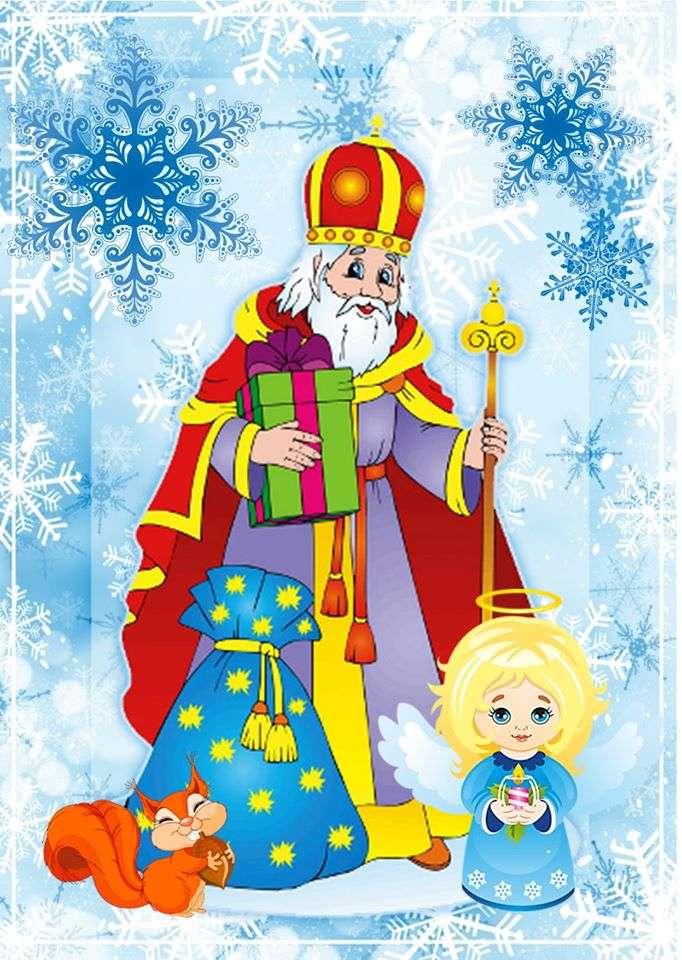 """""""Święty Mikołaj nadchodzi!"""" - """"Święty Mikołaj nadchodzi!"""" - 6 piosenek (2×3)"""