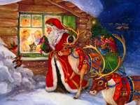'Het komt eraan, het komt eraan, kerstman!'