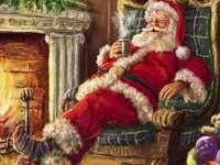 """""""De kerstman rust!"""""""
