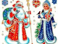 """Santa Claus and the Winter Fairy"""