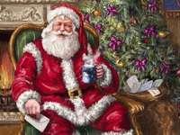 """""""De kerstman schenkt thee"""""""