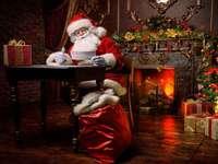 """""""Ježíšek připravuje dárky"""" - """"Santa připravuje dárky"""" - 6 kusů"""